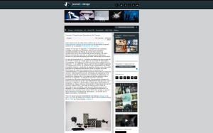 Journal du design  Design : Gwendoline Del Campo