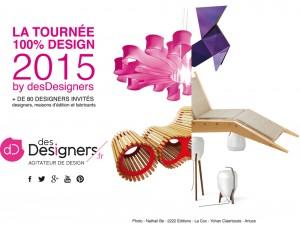 tournée-2015-desdesigners | Design : Gwendoline Del Campo